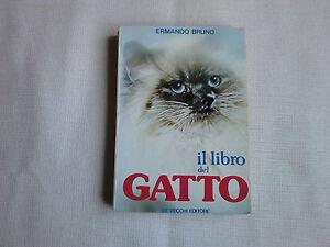 Libro-034-Gatto-034-di-Ermando-bruno-del-1980-moltissime-foto-buono