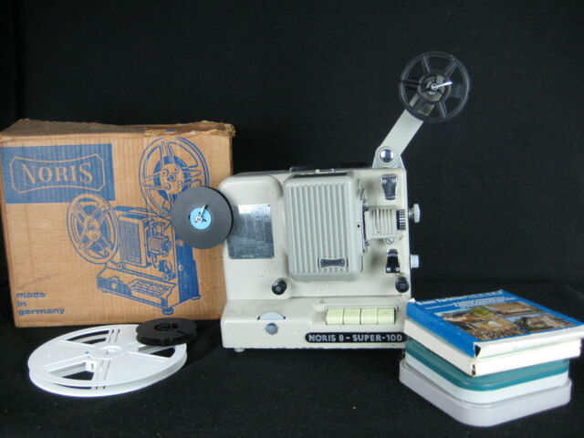 Noris 8 Super 100 projector + Films