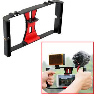 Camera-Video-Cage-Handheld-Stabilizer-Mount-Holder-Frame-Rig-For-Mobile-Phone
