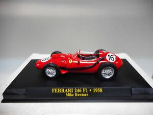 FERRARI-246-F1-1958-MIKE-HAWTORN-FORMULA-F1-ALTAYA-IXO-1-43-HARD-BOX