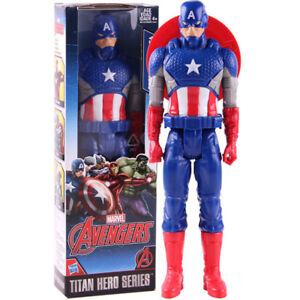 Marvel-Avengers-Titan-Hero-Series-Captain-America-PVC-Action-Figure-Model-Toy