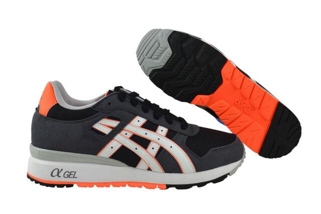 Amanecer Vacío alfiler  Asics GT-II black bright orange Sneaker grau H406N 9001   eBay