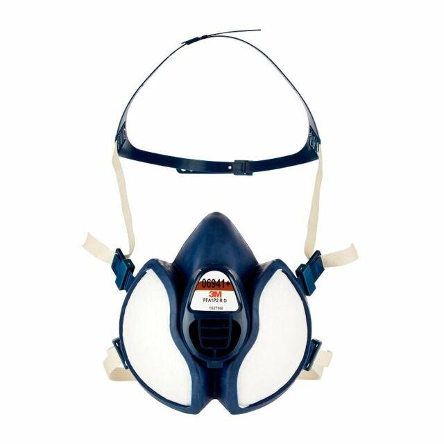 1PZ 3M 06941+ antipolvere protezione respiratore per verniciatura vapori P2