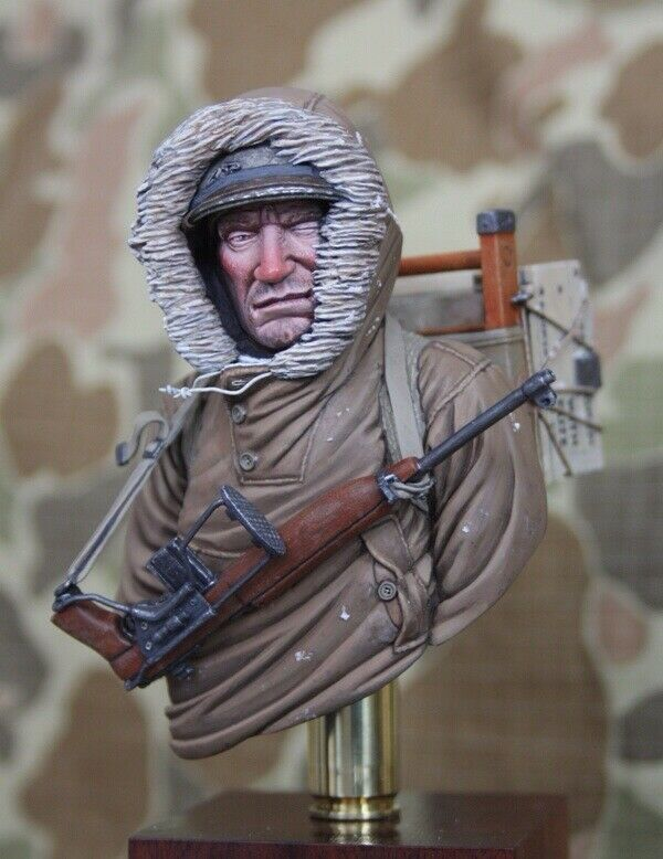 Recon Productions US First Special Service Force WW2 1 9th Unpainted bust Kit