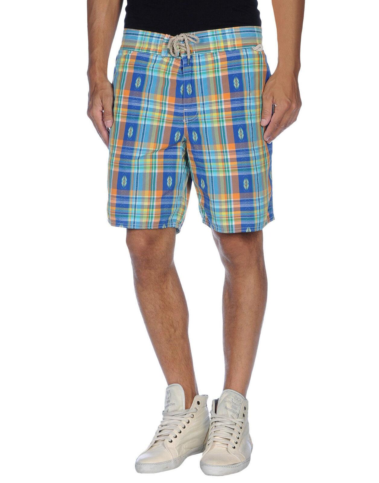 POLO Ralph Lauren a quadretti Sanibel, Swim Pantaloni Pantaloni Pantaloni corti nuova con etichetta taglia L XL (36  -38 ) 3f7a91