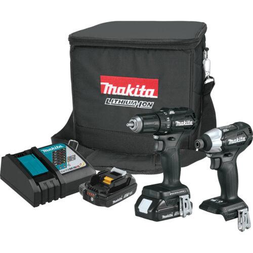 Makita  LXT Li-Ion 18-Volt  Cordless Brushless Drill// Impact Driver Combo Kit