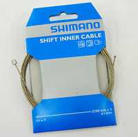 Shimano Stainless 2100mm Derailleur/shifter Cable