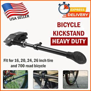 UNIVERSAL Mountain Bike Kickstand Bicycle Kick Stand MTB Road Adjustable Side US