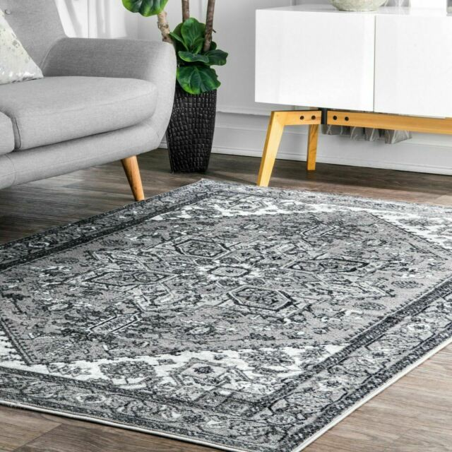 Nuloom Sharron Slate Gray Area Rug For Sale Online Ebay