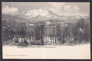 Ufficio Postale Via Monte Rosa Novara : Novara borgomanero 82 frazione vergano monte rosa cartolina ebay