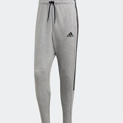 DQ1443 Must Haves 3-Stripes Tiro Men Sports Fitness Long Pants Gray Adidas