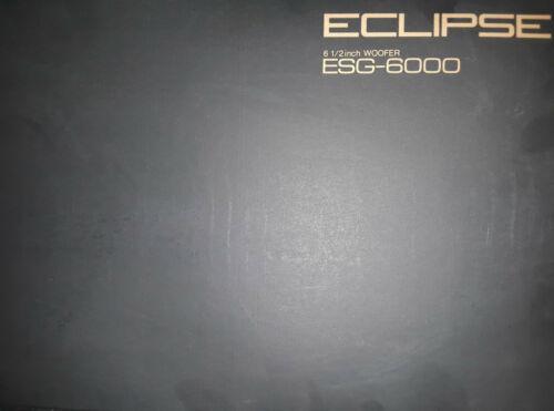 "2 Eclipse ESG-60006 1//2/"" 250w SubwoofersFujitsu Ten Limited Brand New!"