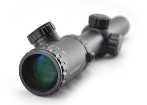 Visionking 1.25-5x26 Rifle scope Hunting 30mm Mil-dot Reticle 223 Air Air soft