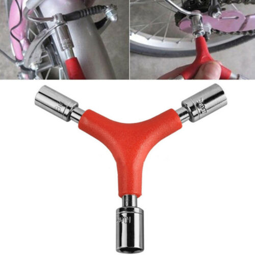 Red Bike Wrench Bicycle Sockets Y Type Shaped Hex Wrench Socket Tool S