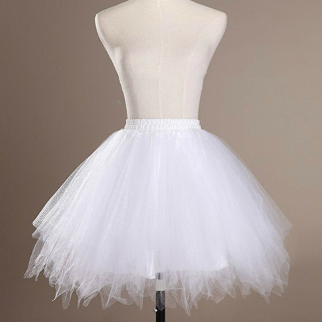 Hot Women Adult Lady Tutu Tulle Skirt Fancy Skirt Dress Up Party Dancing Dress 3