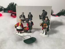 Department 56 The Heritage Village Collection Buying Bakers Bread #5619-7