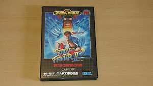 Street-Fighter-2-039-Special-Champion-Ed-PAL-ASIA-Sega-Megadrive-Genesis-neuf-NEW