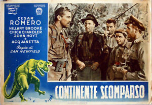 ALL-SCY-FICTION-ONLY-AVAILABLE-24h-Lost-Continent-CESAR-ROMERO-1951-FOTOBUST