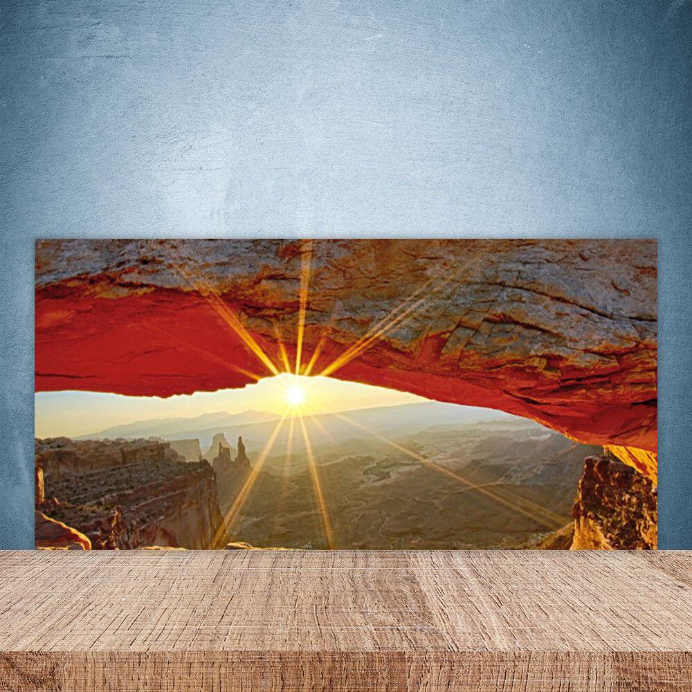Crédence de cuisine en verre Panneau Paroi 100x50 Paysage Grand Canyon