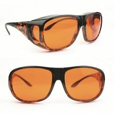 Eschenbach Solar Shields Orange Filter - LARGE FitOvers Sunglasses - Brand New