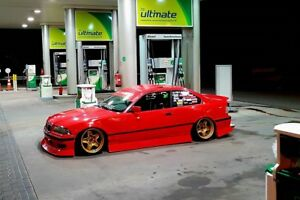Details about BMW E36 JAPANESE STYLE BODY KIT