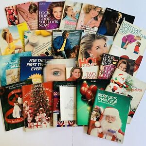 1987-Vintage-Avon-Catalog-Campaign-Books-Lot-of-23