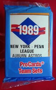 1989-AUBURN-ASTROS-PROCARDS-MINOR-LEAGUE-TEAM-SET-KENNY-LOFTON-HOUSTON-ASTROS