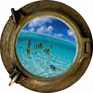 Huge-3D-Porthole-Fantasy-Fish-Under-Sea-View-Wall-Stickers-Film-Mural-Decal-514