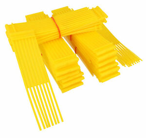 Yellow-Sweeper-Brushes-Fits-WESTWOOD-COUNTAX-Lawn-Tractor-Pack-Of-54