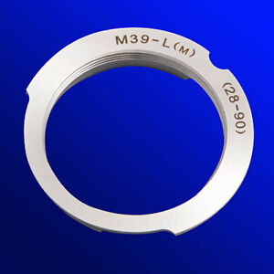 Ring-Adapter-Objektiv-Mount-m39-Leica-L-M-Kamera-Body-28-90mm