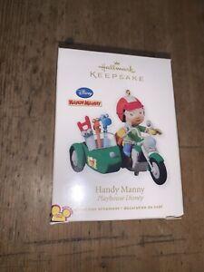 2010 Hallmark HANDY MANNY Disney Ornament Motorcycle Tools ...