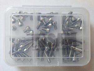 M2//M2,5//M3 Innensechskantschrauben Set 2.400 tlg DIN 912 A2