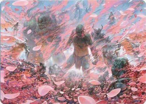 1x Winds of Abandon Modern Horizons MT English Art Series Art Series NM-Mint