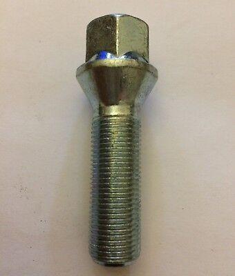 1 X M14x1.25 Silver Extended Alloy Wheel Bolt 55mm Thread Fits Bmw 1 See List Den Menschen In Ihrem TäGlichen Leben Mehr Komfort Bringen
