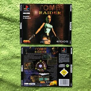 PS1-Tomb-Raider-Frontal-amp-Parte-Trasera-para-Doppel-Cd-Hulle