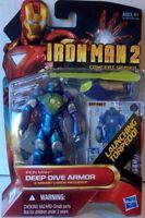 Iron Man 2, Action Figure Number 6 Deep Dive Armour 3.75 Concept Series