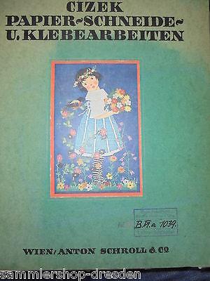 21197 Cizek Papier Schneide U Klebearbeiten Technischen Grundlagen 1925 Art Deco Adecuado Para Hombres Y Mujeres De Todas Las Edades En Todas Las Estaciones