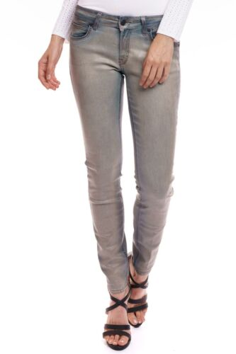 DRYKORN-Skinny Fit Donna Jeans Pelle Patch 5 Pocket Style Perfect Fit
