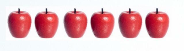 Dolls House Green Apples Miniature Kitchen Garden Greengrocers Accessory Fruit