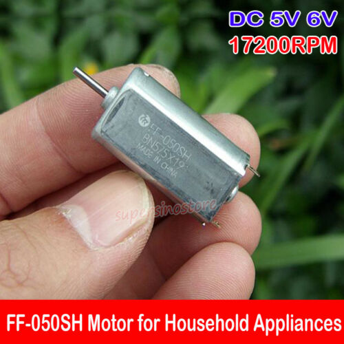MABUCHI 050 Motor DC 5V 6V 17200RPM 11mm*15mm Motor for Household Appliances CD