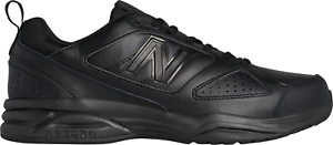 New Balance MX623AB3 Men's 623v3 Black Leather Trainer Cross-Training shoes