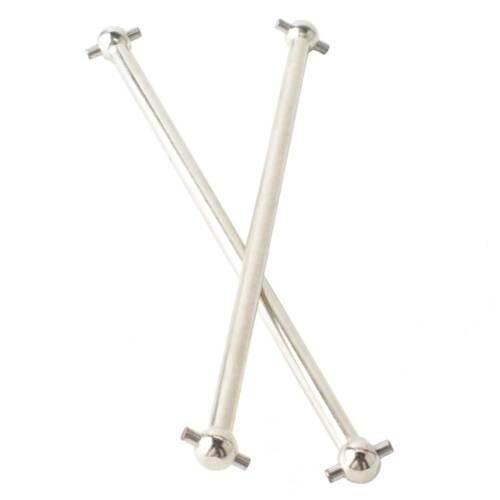 Dogbone 77 mm pour HPI Racing Bullet 3.0 STAR TREK//MT Radio Control en métal argenté 101234 drive shaft