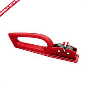 Aiguiseur-couteau-affuteur-roulette-couleur-rouge-Fabrication-italienne
