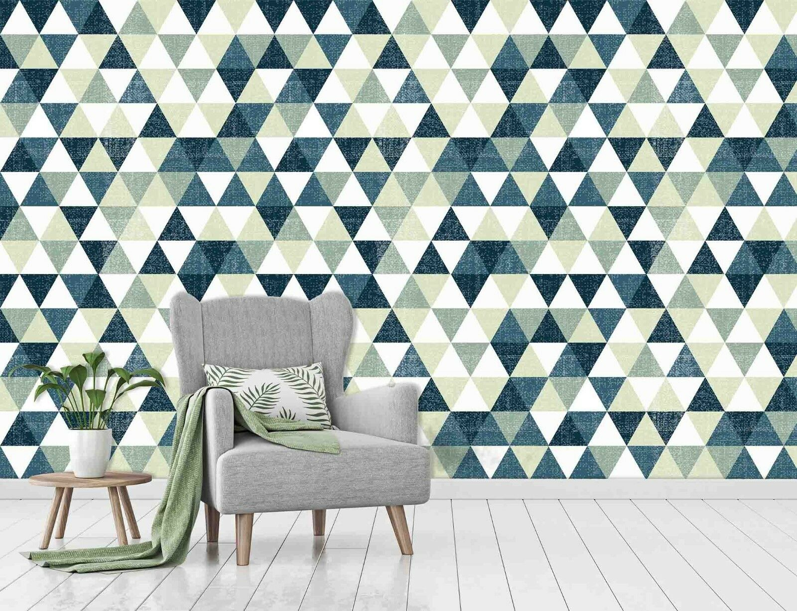3D  Triangle Geometry  453 Wall Paper Wall Print Decal Deco Indoor Wall Mural CA