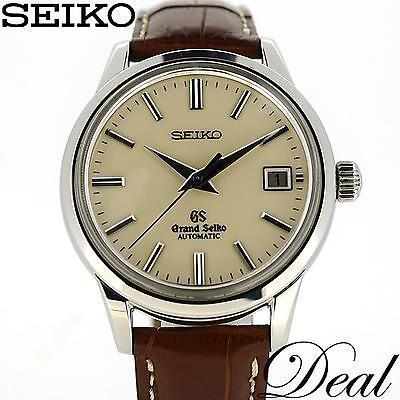 SEIKO Grand Seiko SBGR061 Automatic SS Lather Men's Watch