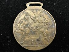1889 Paris French Exposition Universelle Bronze Medal World Expo N.J. SCHLOSS Co