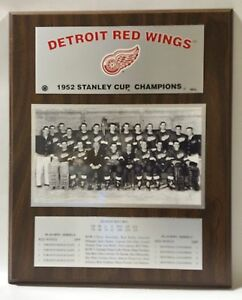 Detroit-Red-Wings-1952-Stanley-Cup-Champions-Plaque-by-Healy-Awards