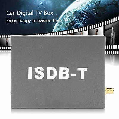 12V Digital Mini TV Box ISDB-T502 Signal Receiver For Car DVD Monitor Analog TV