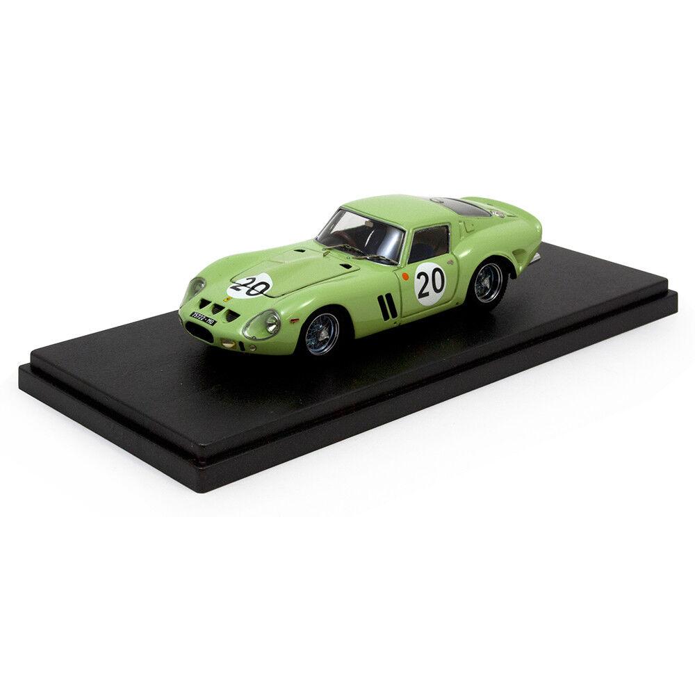 N'oubliez pas Modèles 1 43 1962 Ferrari 250 GTO  20 Le Mans UDT Laystall Irlande Grego