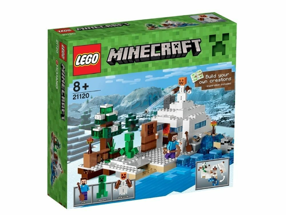 LEGO 21120 Minecraft The Snow Hideout Brand New Set